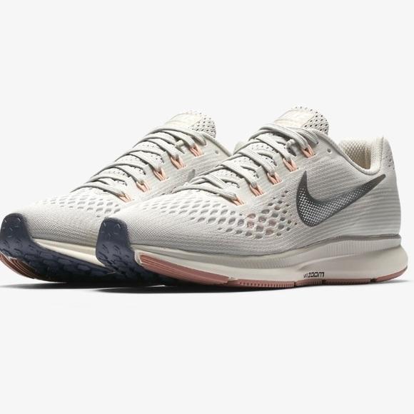 sneakers for cheap ec9e5 7b642 Nike Zoom Pegasus 34 Sneakers Mauve Gray Silver. M 5ab5760e9d20f07bbd95a1a9